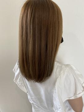 Hair Salon for D × ストレートヘア