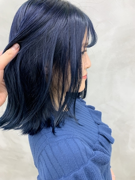 *【SUN】ネイビーブルーカラー 蜂谷咲季