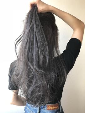 Hona hair ☆ グレーアッシュ×ハイライト