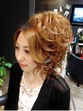 似合わせ 盛り髪 セットアップ 盛り髪.16