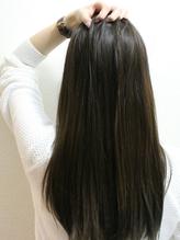 縮毛矯正+カット¥7344☆[グラップ縮毛]で天然ストレートの様☆+¥2160でケアドゥーエがお勧め♪