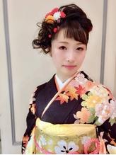 卒業式お洒落着付けヘアメイク☆ .34