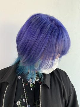 最強派手髪!推しカラー#ツイステカラー