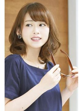 【aoyama人気no.1】30代 大人女子のドレッシーナチュラルヘア