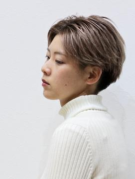 ツーブロック刈り上げ女子のおしゃれ韓国ヘア