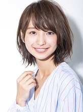ルーズ質感のクラシカルロブ4 小顔◎ GAFF表参道 岡田道好 結婚式.19