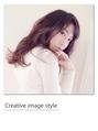 【Creative image styel】グラデーションカラーが合うゆるパーマ