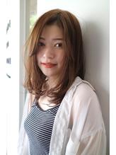 ニュアンスストレート【オーガニックハニーベージュ】.32