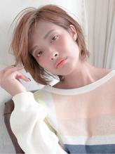 【ショートも前髪かきあげがステキ★】カジュアルショート★ リラックスボブ.43