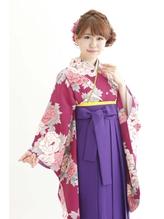 【池袋Neolive 】卒業式 袴着付け & ヘアセット ¥12960☆ 謝恩会.48