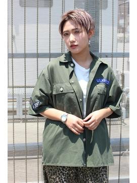 【RENJISHI】マニッシュショート[坂手 開]