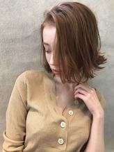 ニュアンス束感ふわミディボブ【mica】.56