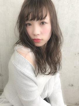 【LUNON】ヌーディほつれカール
