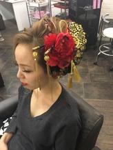 成人式前撮りスタイル 盛り髪.31