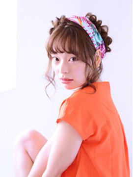 編込み×スカーフのエフォートレス・夏アレンジ 【石川】