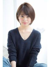 【Un ami】松井幸裕 スポンテニアス&フリンジバング ショート 40代.9