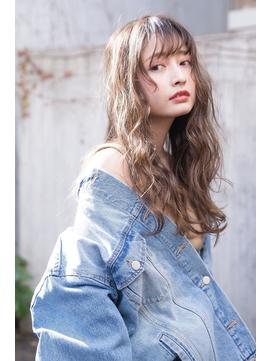 【恵比寿ro-ro】小顔ロング×ドレープウェーブ