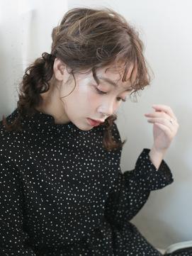 【chou chou_心斎橋】アンニュイさにこだわるヘアアレンジ