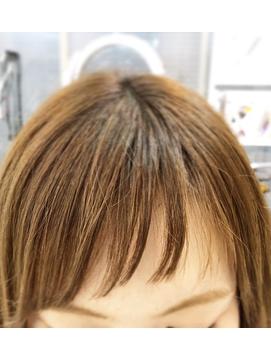 ★XES-TA★アシメショートバング