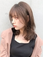*イヤリングカラー☆大人可愛い前髪イメチェンくびれミディ♪