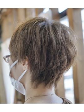 くせ毛をいかすボーイッシュショートスタイル☆★