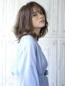 【ageha  hair】ベイクドカラー×ミディアム