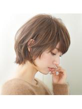 30代・40代・50代前下がりマッシュ☆大人可愛い小顔ショートボブ .34