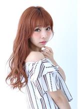 【Lee shinsaibashi】秋色イルミナカラー×オレンジベージュ 秋色.35