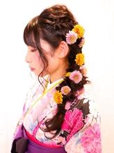 卒業式 袴着付けセットスタイル 【高田馬場】 .4