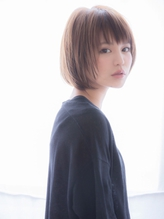 【aRietta/銀座】 大人かわいい 小顔 前下がりボブ パーマ.31