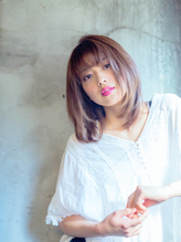 【EL hair salon】 (イルミナカラー)グレージュ×ボブレイヤー 脱力系.33