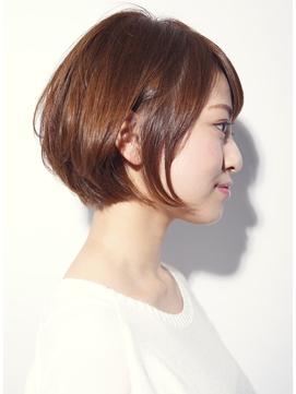 【DECO・穂積聡】#大人かわいい美髪シルエットショートボブ