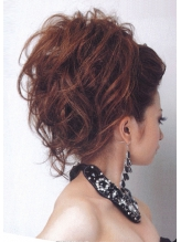 ポンパで盛り髪《六本木駅1分 ヘアセットank》 盛り髪.16