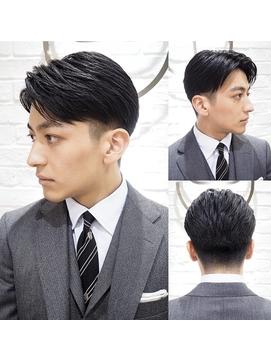 【ヨシザワ聖路加】30代ビジネスツーブロックスーツスタイル