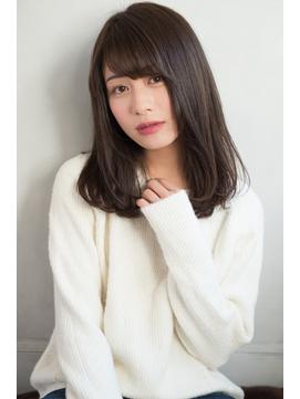 【東 純平】大人かわいい 小顔 ミディ