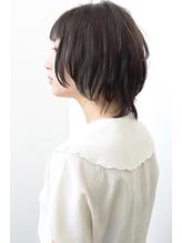 シースルーバングナチュラルショート【vicca萩原】.45