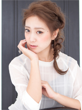 【PATIONN 佐野 侑子】編み込みくるりんぱルーズヘアアレンジ☆ ホットカーラー.28