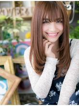 *+COVER HAIR+*…恋を仕掛ける…フェミニンストレートb  小悪魔.5