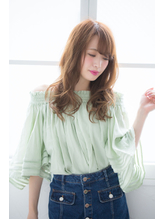 デジタルパーマを毛先に☆ナチュラル女子☆小顔になりたい.5