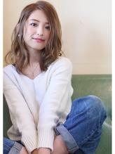 【ninon 阿倍野】透け感アッシュベージュ 愛され.30