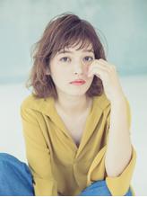 【Lily.佐山雄司】ジグザグバング 無造作 イルミナカラー.37