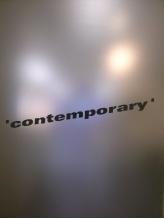 コンテンポラリー(contemporary)