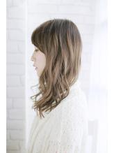 美髪デジタルパーマ/バレイヤージュノーブル/クラシカルロブ/002 Oggi.56