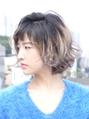 【aina hair/代々木公園代々木八幡】デザインカラーボブ