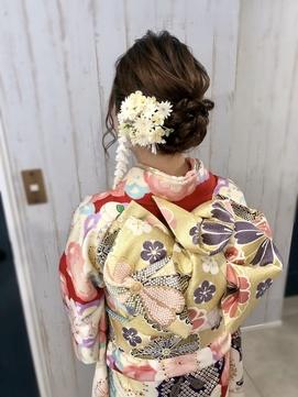 『ヘアセット専門店Mature』振袖+ヘアセット4