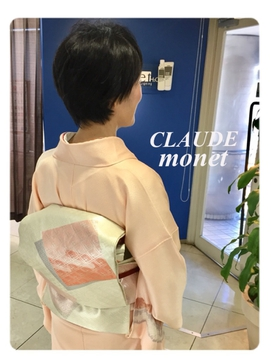 訪問着【CLAUDE-monet-Collection】