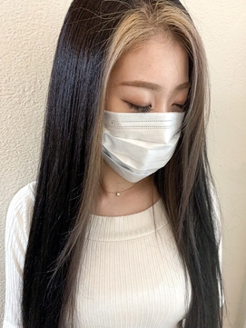 【Lee天神橋】バングカラー/韓国ヘア/ロング