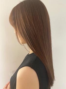 「LOuNICA」髪質改善ヘルシーストレート