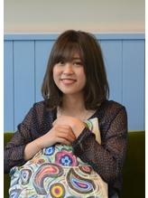 【kolme-齋藤恭平】すっきりカラーのナチュラルボブディ♪.50
