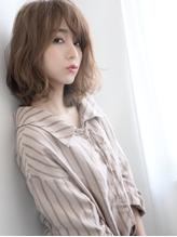 まるみ×ゆる内外ハネ☆ナチュラル仕込みの素髪感とろみボブ♪ フェミニン.55